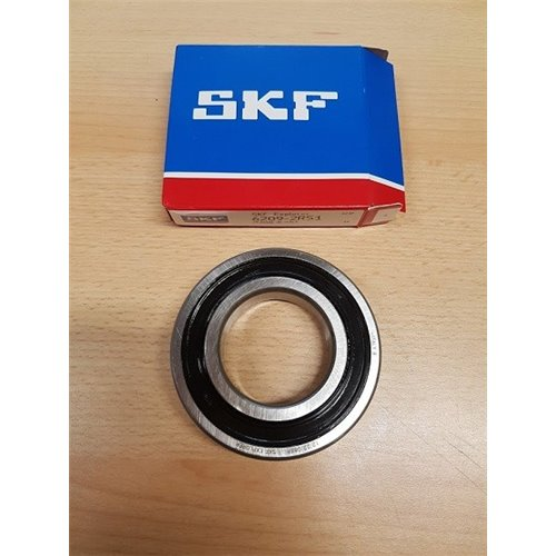 Cuscinetto Rigido a Sfere 6209-2RS1 SKF 45x85x19 6209-2RS1,62092RS,6209-2RS,6209-C-2HRS,62092RS1,6209DDU,6209LLU