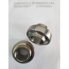 Cuscinetto UC208 INOX 40x80x49.2 TMM