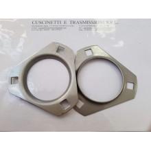 Flangia supporto PFT205-SS Forma Triangolare INOX Import