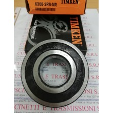 Cuscinetto 6308-2RS-NR Timken 40x90x23 Weight 0.63