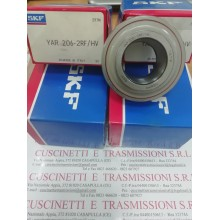 Cuscinetto YAR 206-2RF/HV SKF 30x62x38,1 Weight 0,2925 YAR2062RFHV