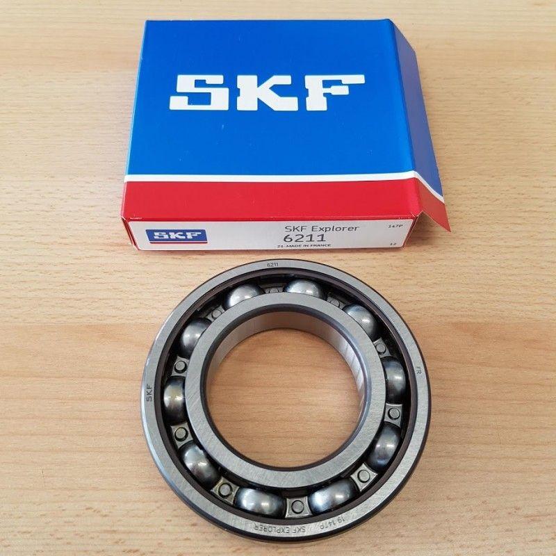 Cuscinetto 6211 SKF 55x100x21 Weight 0,591 6211
