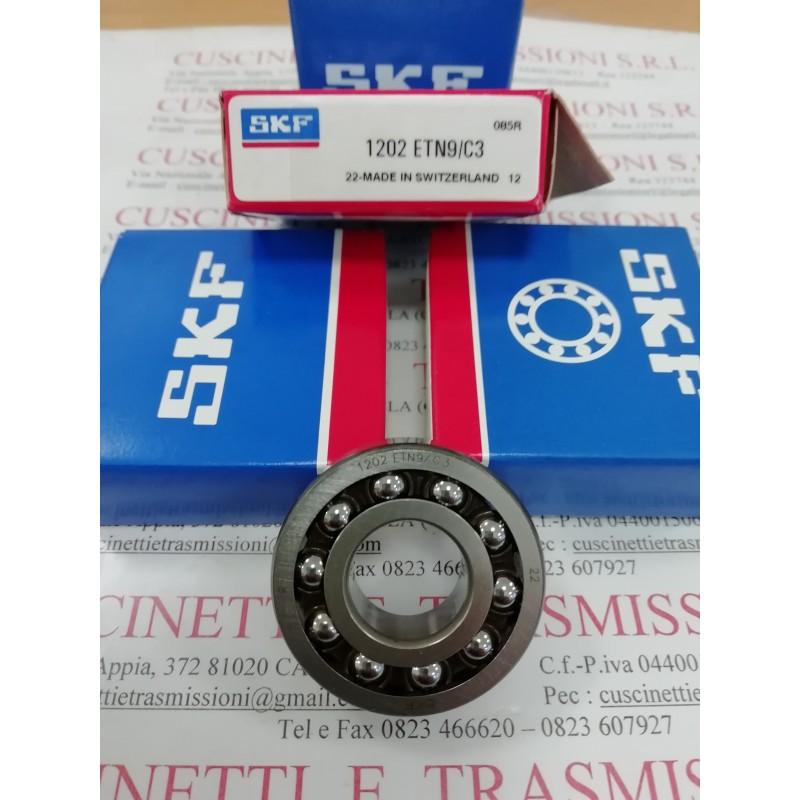 Cuscinetto 1202 ETN9/C3 SKF 15x35x11 Weight 0,049 1202ETN9C3