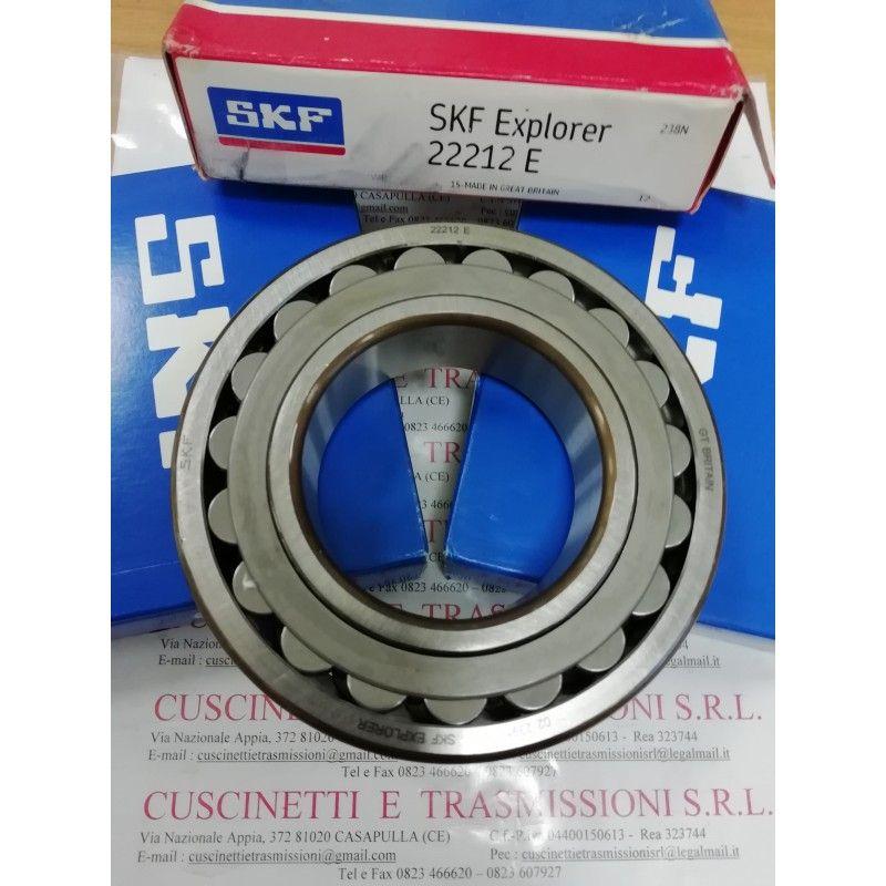 Cuscinetto 22212 E SKF 60x110x28 Weight 1,1395 22212,22212E,22212CCW33,22212E1,22212E1XL,