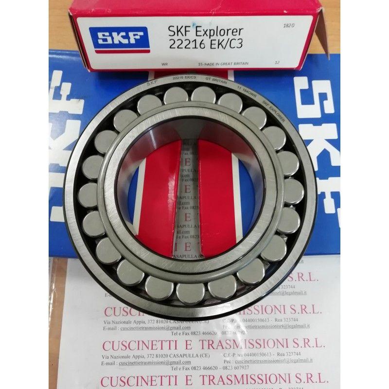 Cuscinetto 22216 EK/C3 SKF 80x140x33 Weight 2,0469 22216EKC3
