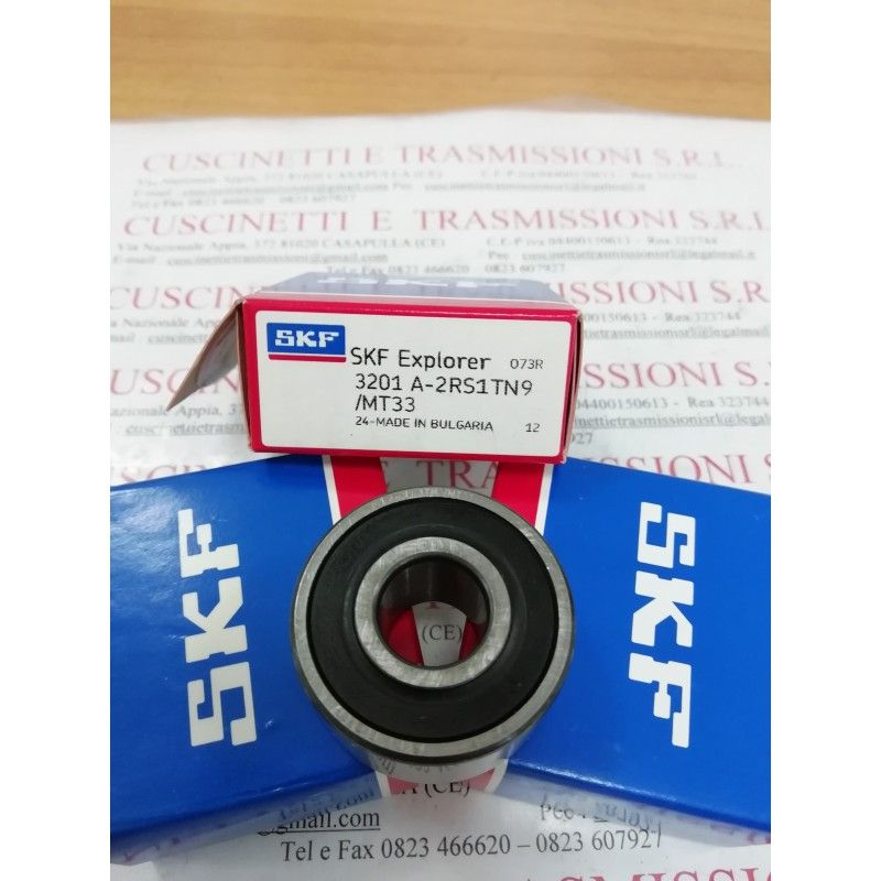 Cuscinetto 3201 A-2RS1TN9/MT33 SKF 12x32x15,9 Weight 0,0603 32012rs,3201-2rs,3201a2rs1tn9mt33,3201bdxl2hrstvh,5201-2rs