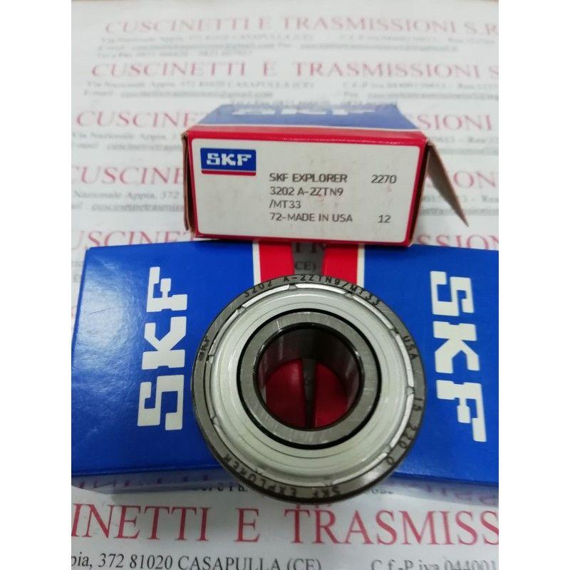 Cuscinetto 3202 A-2ZTN9/MT33 SKF 15x35x15,9 Peso 0,067 32022z,3202-2z,3202zz,3202-zz,3202a2ztn9mt33,3202bd2ztvh,5202zz,