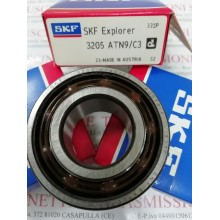 Cuscinetto 3205 ATN9/C3 SKF 25x52x20,6 Weight 0,1686 3205C3,3205-C3,3205/C3,3205ATN9C3,