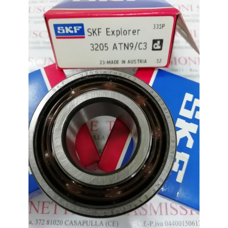 Cuscinetto 3205 ATN9/C3 SKF 25x52x20,6 Weight 0,1686 3205C3,3205-C3,3205/C3,3205ATN9C3,