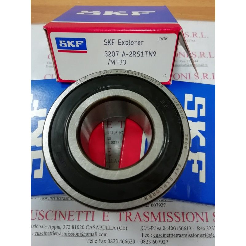 Cuscinetto 3207 A-2RS1TN9/MT33 SKF 35x72x27 Weight 0,444 32072rs,3207-2rs,3207a2rs1tn9mt33,3207bdxl2hrstvh,5207-2rs