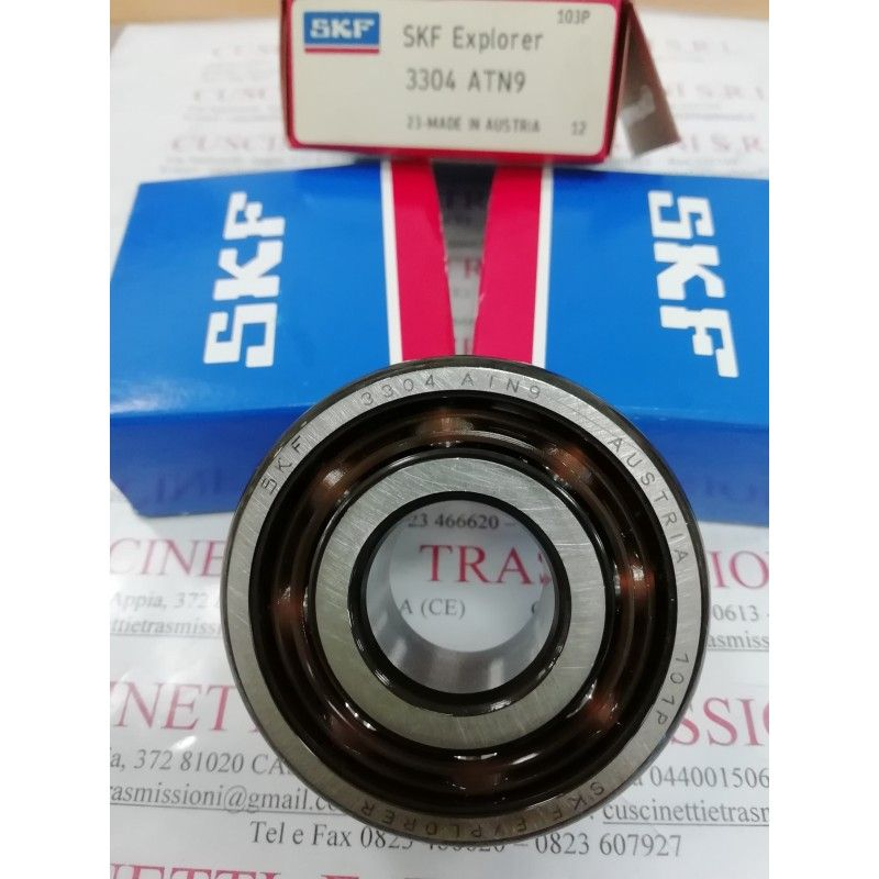 Cuscinetto 3304 ATN9 SKF 20x52x22,2 Weight 0,2114 3304,3304ATN9