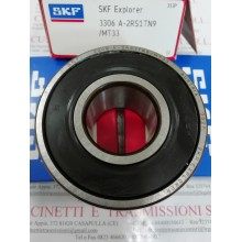 Cuscinetto 3306 A-2RS1TN9/MT33 SKF 30x72x30,2 Weight 0,536 33062RS,3306-2RS,3306A2RS1TN9MT33