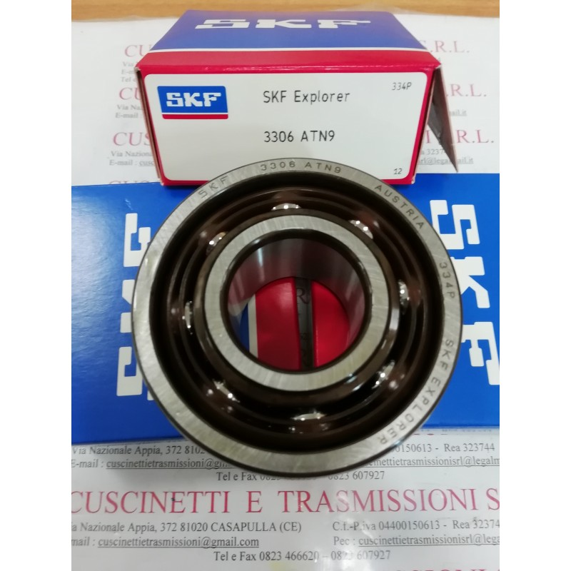 Cuscinetto 3306 ATN9 SKF 30x72x30,2 Weight 0,52 3306,3306ATN9