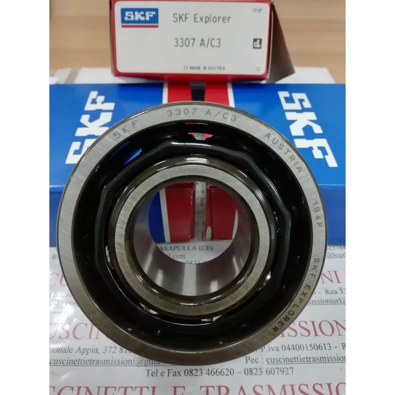 Cuscinetto 3307 A/C3 SKF 35x80x34,9 Weight 0,7557 3307C3,3307-C3,3307/C3,3307AC3
