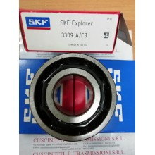 Cuscinetto 3309 A/C3 SKF 45x100x39,7 Gabbia in acciaio 3309AC3,3309A/C3