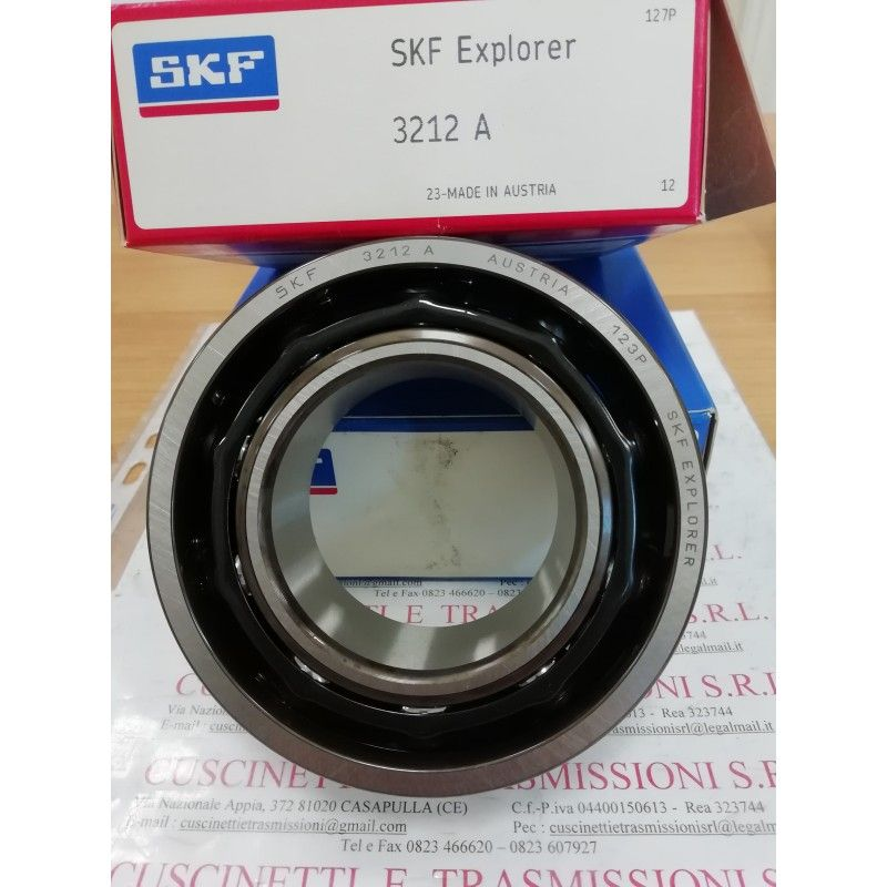 Cuscinetto 3312 A SKF 60x130x54 Gabbia in acciaio 3312A