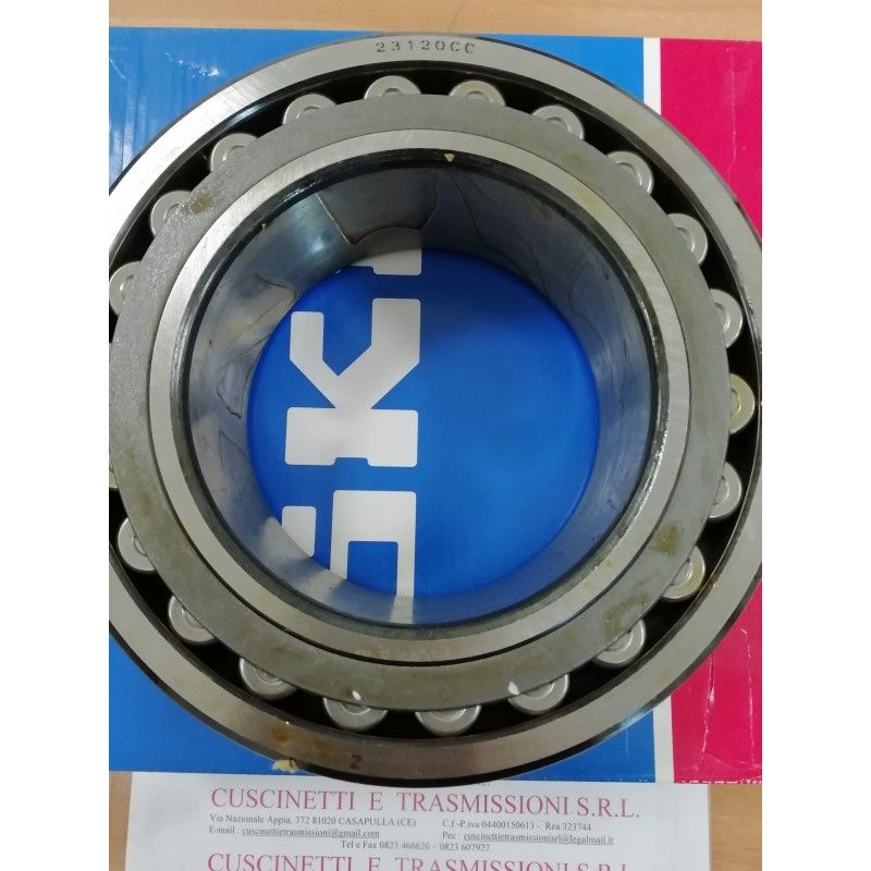 Cuscinetto 23120 CCK/C3W33 SKF 100x165x52 Weight 4,25 23120CCKC3W33