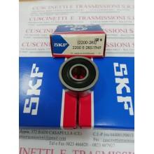Cuscinetto 2200 E-2RS1TN9 SKF 10x30x14 Weight 0,046 2200E2RS1TN9