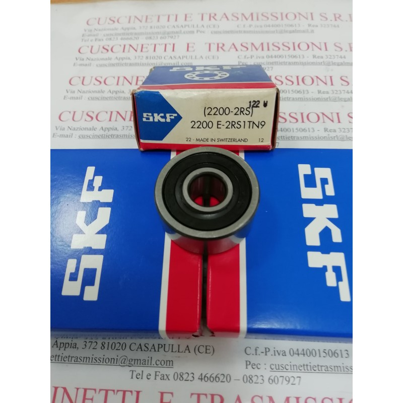 Cuscinetto 2200 E-2RS1TN9 SKF 10x30x14 Weight 0,046 22002rs,2200-2rs,2200e2rs1tn9,