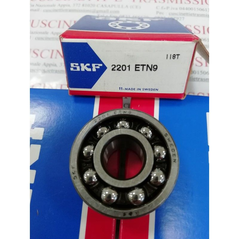 Cuscinetto 2201 ETN9 SKF 12x32x14 Weight 0,049 2201ETN9,2201,