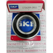 Cuscinetto 1726209-2RS1 SKF 45x85x19 Weight 0,396 17262092rs1,1726209,209nppb,6209see,cs209,cs209llu,ud209,k6209