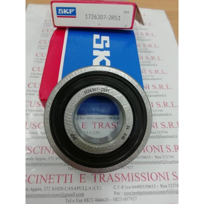 Cuscinetto 1726307-2RS1 SKF 35x80x21 Weight 0,43 17263072rs1,1726307,307nppb,6307see,cs307,cs307llu,ud307,k6307