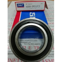 Cuscinetto 6008-2RS1/C3 SKF 40x68x15 Weight 0,191 60082RSC3,6008-2RS1/C3,6008-2RSR-C3,6008-2RS-C3,6008-C-2RSR-C3,