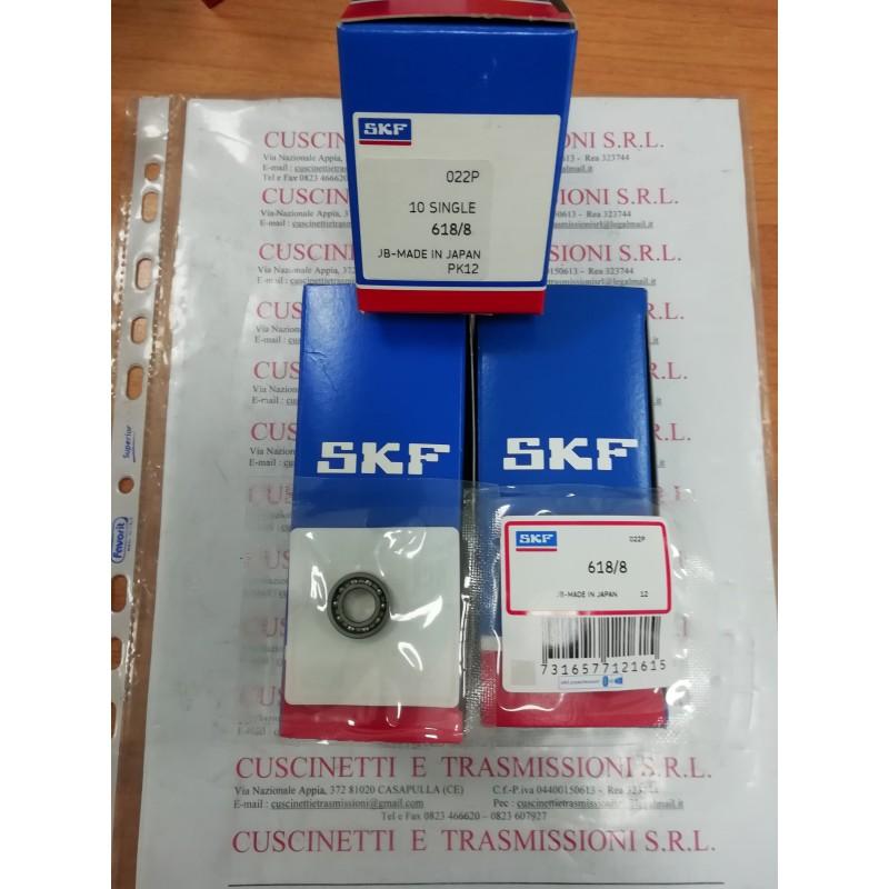 Cuscinetto 618/8 SKF 8x16x4 Weight 0,0035 6188,618/8,688,