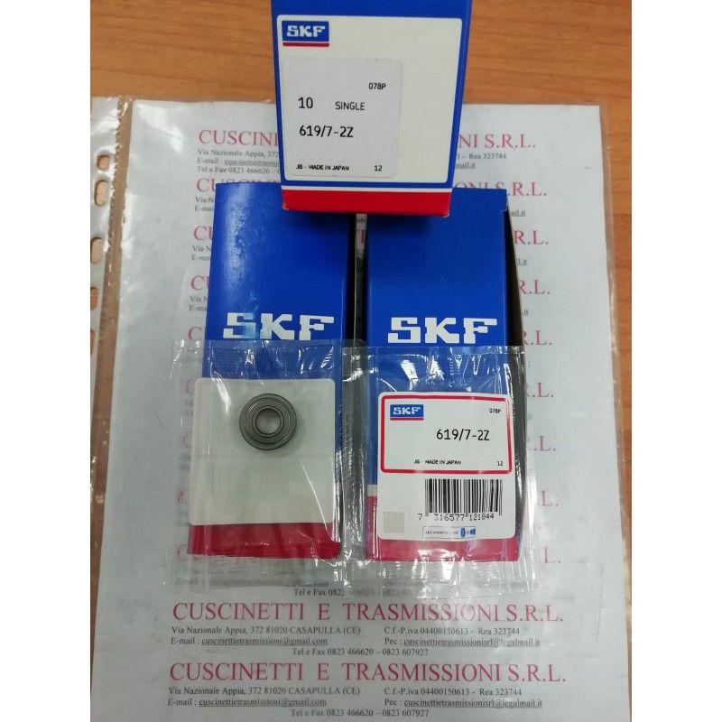 Cuscinetto 619/7-2Z SKF 7x17x5 Weight 0,0048 61972Z,619/7,619/72Z