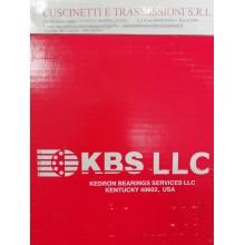 Cuscinetto RLS 8 2RS NR 25.4x57.15x15.875 KBS