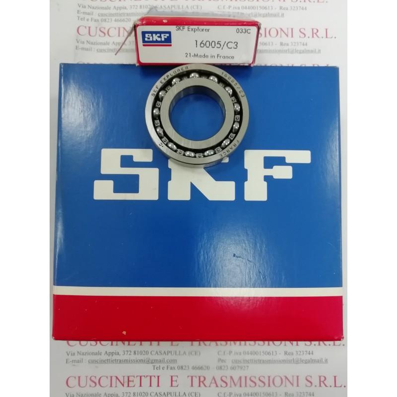 Cuscinetto 16005/C3 SKF 25x47x8 Peso 0,056 16005C3,16005/C3,16005-C3,