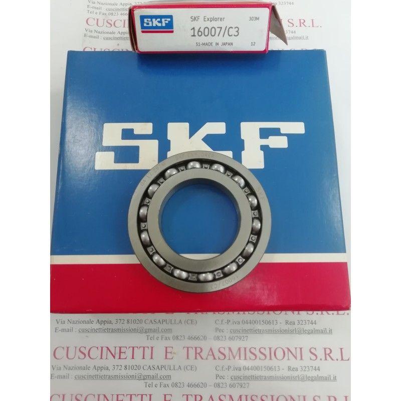 Cuscinetto 16007/C3 SKF 35x62x9 Weight 0,108 16007C3