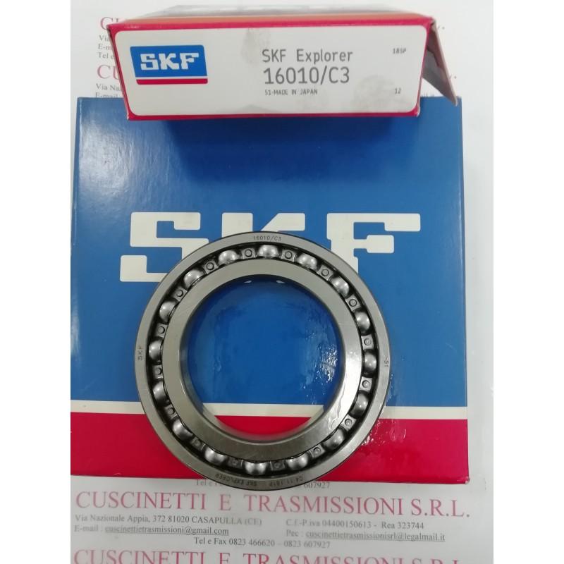 Cuscinetto 16010/C3 SKF 50x80x10 Weight 0,179 16010C3