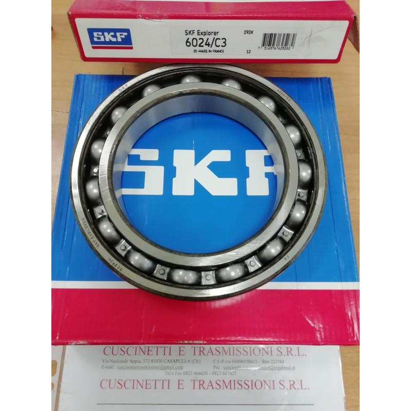 Cuscinetto 6024/C3 SKF 120x180x28 Weight 2,0884 6024C3