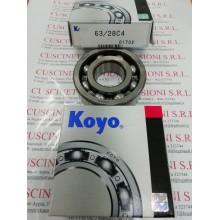 Cuscinetto 63/28 C4 KOYO 28x68x18 Weight 0.291 63/28C4,63/28-C4,