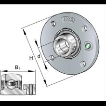 Cuscinetto PME45-XL INA 45x155x43,8  Weight 1,86