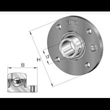 Cuscinetto PMEY50-XL-N INA 50x165x43  Weight 2,01
