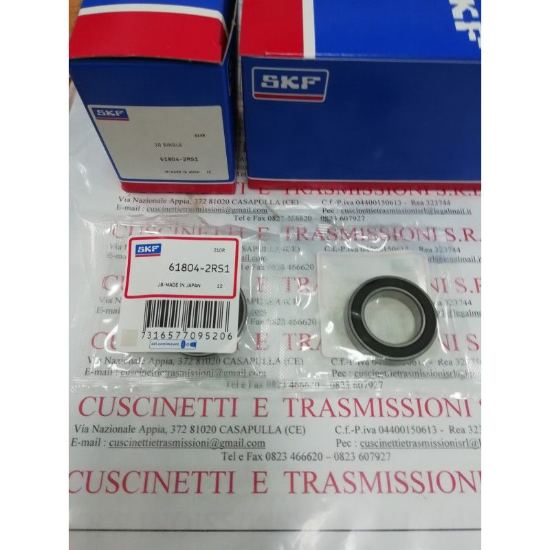 Cuscinetto 61804-2RS1 SKF 20x32x7 Weight 0,018 618042RS,61804-2RSR-HLC,6804-2RS,6804-2RS,61804-2RS,61804-2RS1,