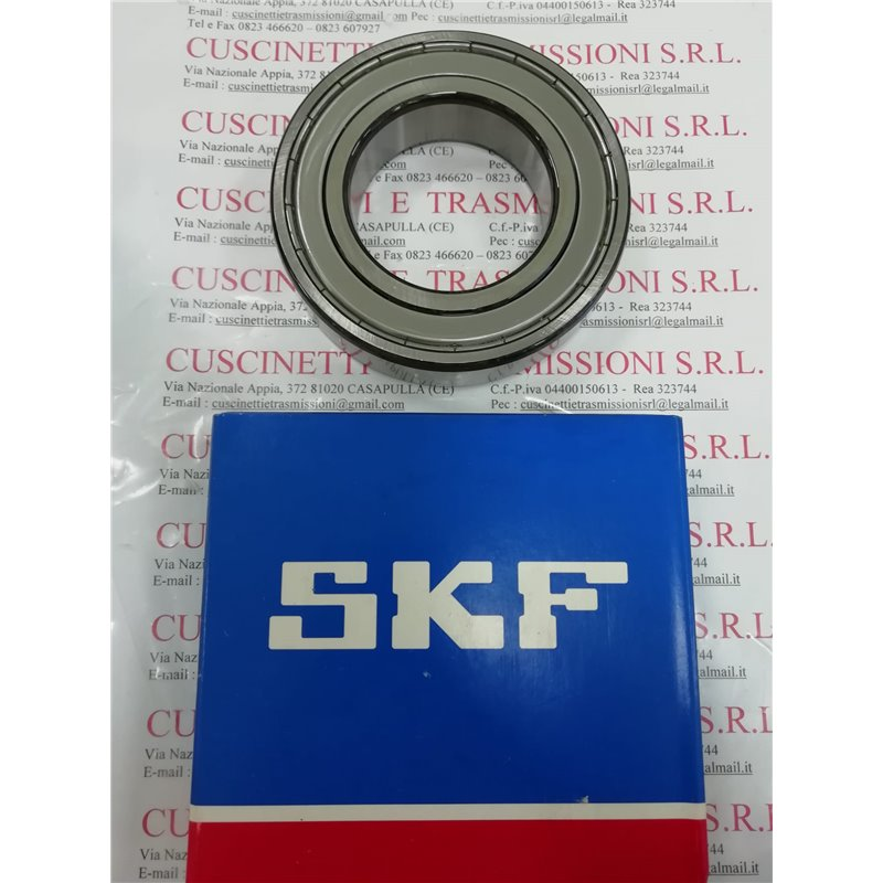 Cuscinetto 6013-2Z SKF 65x100x18 Weight 0,4492