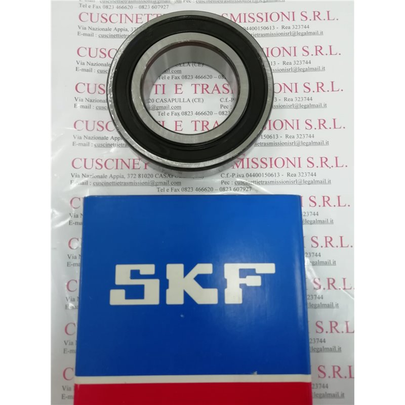 Cuscinetto 6219-2RS1/C3 SKF 95x170x32 Weight 2,6481 62192RSC3,6219-2RS1/C3,6219-2RSR-C3,6219-2RS-C3,6219-C-2RSR-C3,