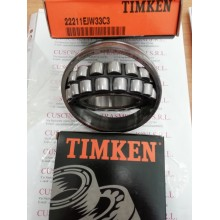 Cuscinetto 22211 EJW33C3 Timken 55x100x25 Weight 0.82