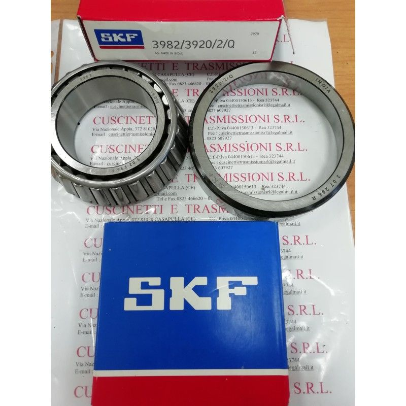 Cuscinetto 3982/3920/2/Q SKF 63,513x112,734x30,162 Weight 1,25 3982/3920,4T3982/3920,3982/20,3920/3982,3982/3920Q,4T-3982/3920,