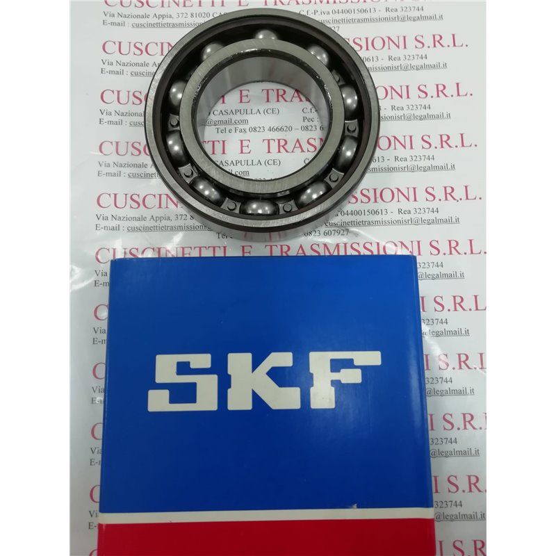 Cuscinetto 6316 SKF 80x170x39 Weight 3,537