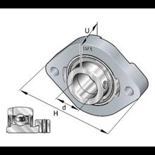 Supporto GLCTE20-XL INA 20x90.5x33 Weight 0,47