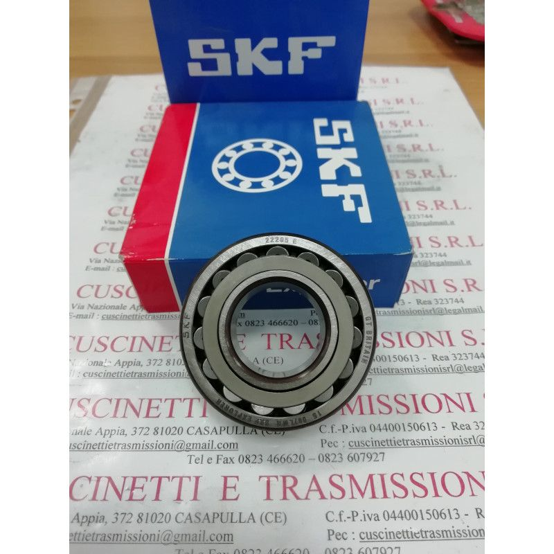 Cuscinetto 22205 EK SKF 25x52x18 Weight 0,1705 22205K,22205EK,22205-E1-K,22205-E1-XL-K