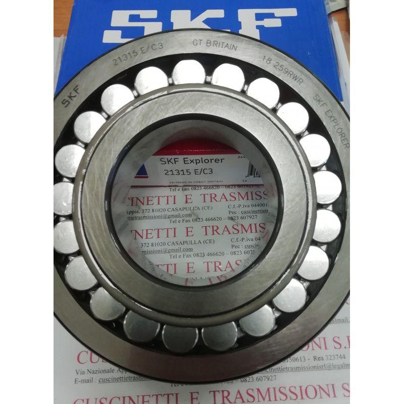 Cuscinetto 21315 E/C3 SKF 75x160x37 Weight 3,7846 21315C3,21315EC3