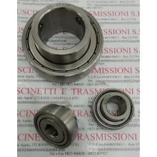 Cuscinetto con misure in pollici SB201-8-SS-INOX INCH 1/2(MM12.70)x40x22/12 Import