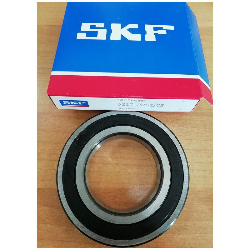 Cuscinetto 6217-2RS1/C3 SKF 85x150x28 Weight 1,786 62172RSC3,6217-2RS1/C3,6217-2RSR-C3,6217-2RS-C3,6217-C-2RSR-C3,