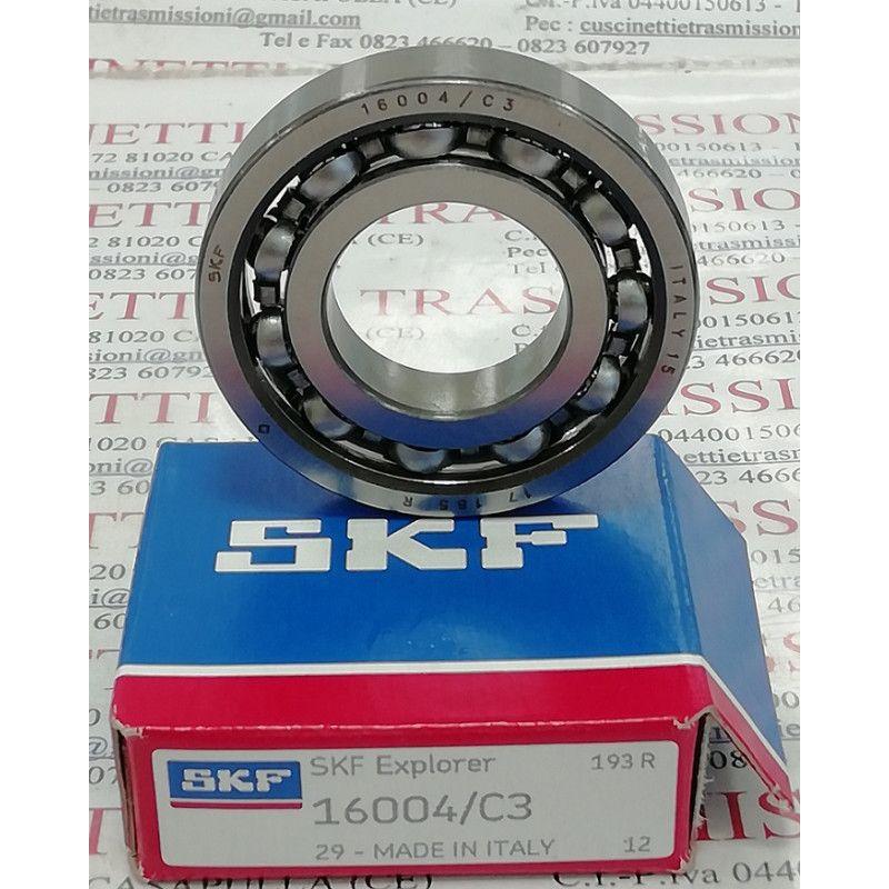 Cuscinetto 16004/C3 SKF 20x42x8 Weight 0,0488 16004C3,16004/C3,16004-C3,