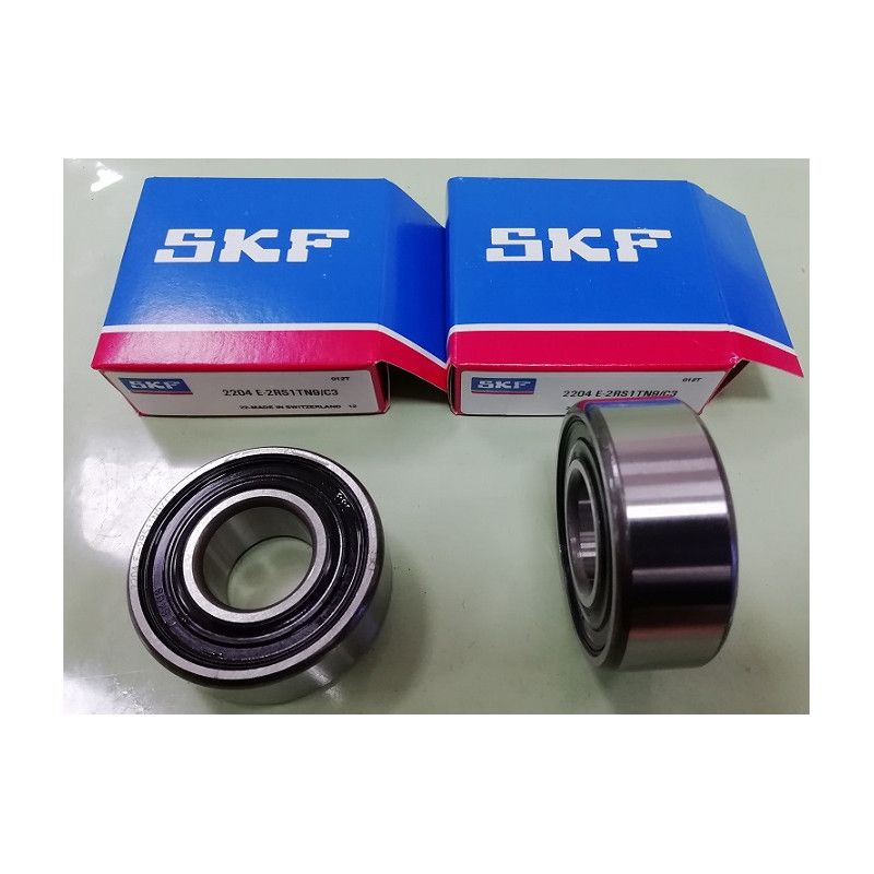 Cuscinetto 2204 E-2RS1TN9/C3 SKF 20x47x18 Weight 0,1385 22042RSC3,2204E2RS1TN9C3,2204 2RS C3 SKF,